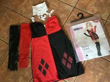 Secret Wishes Harley Quinn Adult Fancy Dress Costume Medium