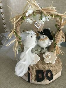 Love birds cake topper clearance last one
