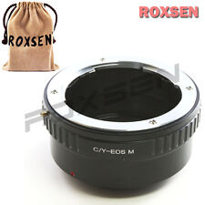 Roxsen Contax Yashica C/Y CY lens To Canon EOS M EF-M mount Mirrorless Adapter