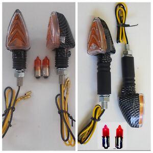 Frecce CARBON Corte + Lunghe per MOTO GUZZI G5 1000 - Griso 850/1100