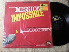 LALO SCHIFRIN lp MUSIC FROM MISSION IMPOSSIBLE DOT DLP 24831 SHRINK