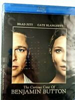 "BLU-RAY DVD - ""THE CURIOUS CASE OF BENJAMIN BUTTON""    2-DISC SET- NEW, SEALED"