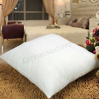 "Continental Euro Square Pillows 60cm x 60cm 24"" x 24"" Luxury Hotel Quality"