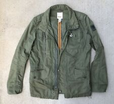 Authentic Diesel Army Green Military Jacket Mens Medium