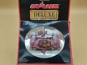 1/60 Rolls Royce Corniche II Rouge Majorette Deluxe Collection