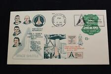 SPACE COVER 1977 1ST DAY USE OF NEW SHUTTLE SLOGAN (3771)