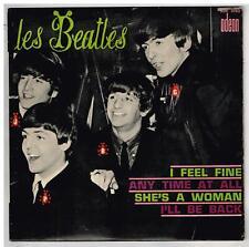 """Les BEATLES    I feel fine     7"""" 45 tours EP"""