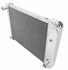 2 Row Aluminum Performance Radiator For 1964 - 88 Chevy/Buick Cars