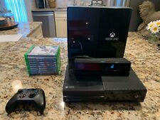 Microsoft Xbox One Kinect Bundle 500GB Black Console (w/ several games included)