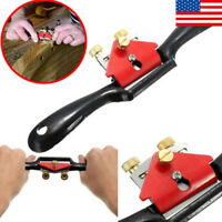 Metal Woodworking Blade Spoke Shave Manual Planer Plane Deburring Hand Tools US