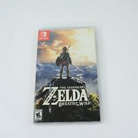 READ Case Only NO GAME The Legend of Zelda: Breath of the Wild Nintendo Switch