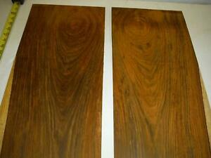 5 square feet of sanded cocobolo veneer, 0.25 or 1/4 inches thick, guitar wood