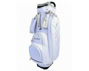 NEW 2021 XXIO WOMEN GOLF   14 WAY CLASSIC CART BAG WHITE COLOR
