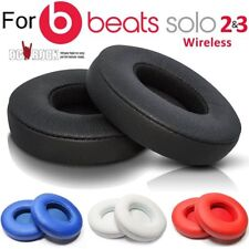 2 Replacement Ear Pad Cushion for Beats by Dr Dre Solo 2.0 Wireless/Wire Headset