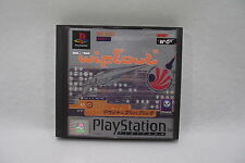 Jeu PLAYSTATION 1 PS1 WIPE'OUT' W'O'' PAL Complet + manuel