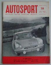 Autosport January 30th 1959 *Monte Carlo Rally*