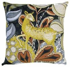 """PSYCHEDEERIC I, 18"""" TAPESTRY CUSHION COVER 5490, 100% COTTON, MADE IN BELGIUM"""