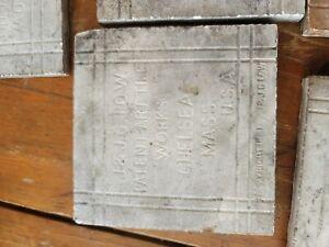 J & J G Low Art Tiles 8 Tiles Chelsea Mass All Marked J & J.G. LOW