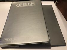 Queen Rare Silver Official Fanclub Binder For Fanclub Magazines Vntage