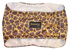 MEDIUM LONG - POPPERS WATERPROOF DOG BELLY BAND NAPPY + 2 WASHABLE PADS - SAFARI