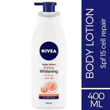 'NEW BRANDED Nivea Extra Whitening Cell Repair SPF 15 Body Lotion EACH 200 ML
