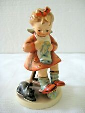 "Goebel Hummel Figurine ""Mother'S Helper"" #133 • Tmk6 • 4 3/4"" Tall • Mint!"