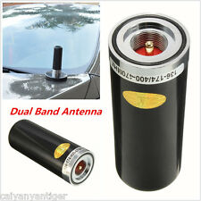 Car Mobile Ham Radio UHF/VHF Dual Band 400-470Mhz&136-174MHZ Antenna NMO Black