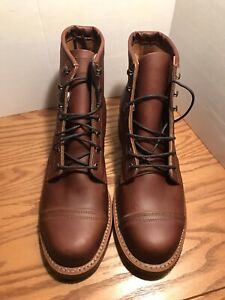"Chippewa 6"" Renegade Homestead Brown Leather Casual Work Boots US 10"