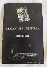 Bless Me, Ultima, RUDOLFO A. ANAYA, 2nd printing, Quinto Sol Press, Chicano