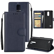 Magnetic Cards Slots Stand Flip Leather Wallet Case Cover For LG K4 K8 K10 2017