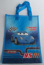 Cars * Kinder-Tasche * Einkaufstasche* Blau mit Motiv*Piston Cup*Flagge* Neu