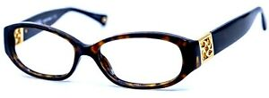 Coach HC8012 Hope 5001/13 Dark Tortoise Sunglasses Frame Only 53-15-140 #1