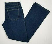 Old Navy Women's Flirt Bootcut Denim Jeans Size 6 Medium Blue Medium/Dark Wash