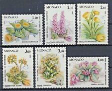 Monaco 1683/88 postfrisch / Pflanzen (8132) ....................................