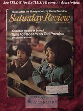 Saturday Review January 24 1970 ESTELLE FUCHS BERNARD BARD EDWARD ALBEE