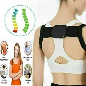 Posture Corrector For Men Women Back Support Upper Shoulders Brace Straightener