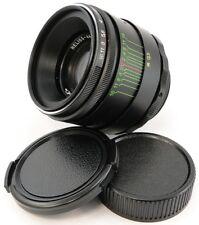 !NEW! HELIOS 44-2 58mm f/2 USSR Lens M42 Pentax Canon Sony α A Olympus Fujifilm