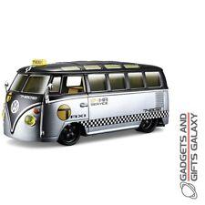 1:24 VW Van Samba Van Camper Taxi Decals Model Car Vehicle Toy Customised Silver