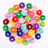 Pet Puppy Dog Cat Hair Bows Rubber Bands Petal Flowers Pearls Dog Grooming Bows