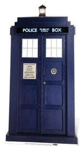 Dr Who Tardis Lifesize Cardboard Cutout - 192cm