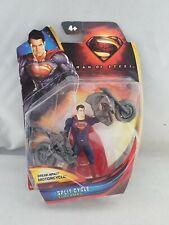 Man of Steel Superman Split Cycle Figure DC Comics Mattel