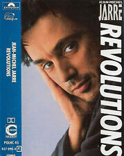 JEAN MICHEL JARRE REVOLUTIONS CASSETTE ALBUM Electronic Abstract Ambient Electro