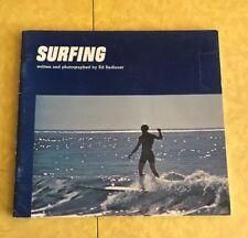 SURFING CALIFORNIA WAVE Ed Radlauer Vintage Softcover 1971 Car Book Kids BEACH