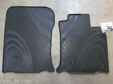 PRADO 150 FRONT RUBBER FLOOR MATS AUTOMATIC 8/09-8/13 ** TOYOTA GENUINE PARTS **