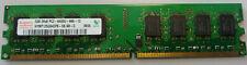 Desktop Arbeitsspeicher RAM Hynix 2GB DDR2 SDRAM PC2 - 6400U HYMP125U64CP8-S6