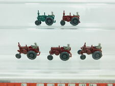 bk29-0, 5 #5x Wiking H0 / 1:87 3080 Bulldog/tractor lanz , MINT