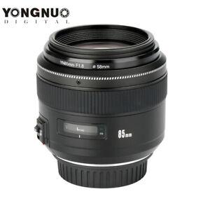 YONGNUO YN85mm F1.8 Lens Standard Lens For Canon EF Camera 7D 5D Mark III 760D