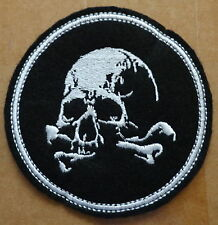 Russian  ARMY  SPETSNAZ  SKULL   embroidered     patch  #355 SE