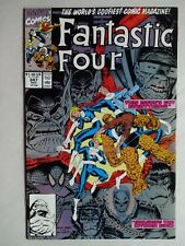 Fantastic Four #347  High Grade NM-   Mole Man   1st New Fantastic Four   Copper
