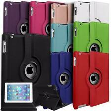 UK Leather iPad Case 360 Rotation Stand Case Cover for iPad 2/3/4 Gen
